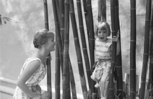 Debbie Reynolds and her daughter, Carrie Fisher1960© 1978 David Sutton - Image 0071_1148
