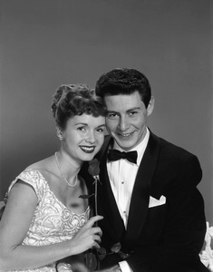 Debbie Reynolds and Eddie Fisher1955© 1978 Wallace Seawell - Image 0071_1150