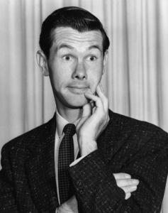 Johnny Carson impersonating Jack Benny1954Photo by Gabi Rona - Image 0072_0222