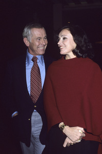 Johnny Carson and wife Joanna Carsoncirca 1980© 1980 Gary Lewis - Image 0072_0771