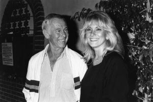 Johnny Carson and Alexandra (Alexis) Maascirca 1987© 1980 Gary Lewis - Image 0072_0772