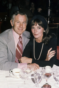 Johnny Carson and wife Joanna Carsoncirca 1972© 1980 Gary Lewis - Image 0072_0774