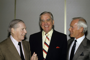 Milton Berle, Ed McMahon and Johnny Carson1987© 1980 Gary Lewis - Image 0072_0777