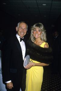Johnny Carson and wife Alexandra (Alexis) Maascirca 1987© 1980 Gary Lewis - Image 0072_0779
