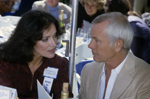 Johnny Carson and Joanna Carsoncirca 1980© 1980 Gary Lewis - Image 0072_0792