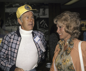 Johnny Carson and Janet Leighcirca 1975© 1980 Gary Lewis - Image 0072_0795