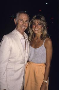 Johnny Carson and wife Alexandra (Alexis) Maascirca 1987© 1980 Gary Lewis - Image 0072_0796