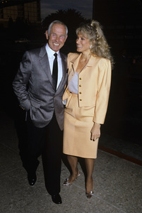 Johnny Carson and wife Alexandra (Alexis) Maascirca 1987© 1980 Gary Lewis - Image 0072_0798