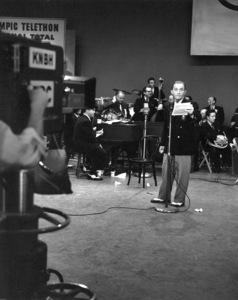 Bing CrosbyHis first T.V. appearance on CBS, 1952Photo by Gabi Rona - Image 0073_2035