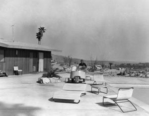 Bing Crosby at his Palm Springs home circa 1962 © 1978 Sanford Roth / A.M.P.A.S. - Image 0073_2115