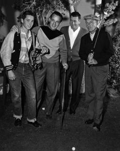 Bing Crosby with Bob Crosbycirca 1957Photo by Gabi Rona - Image 0073_2117