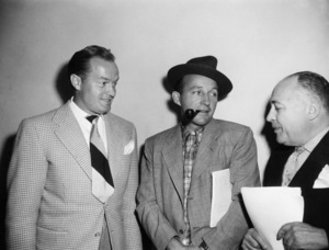 Bing Crosby with Bob Hopecirca 1950sPhoto by Gabi Rona - Image 0073_2120