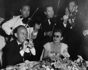 """Bing Crosby and Dixie Lee at a premiere party for """"The Emperor Waltz""""1948 - Image 0073_2127"""