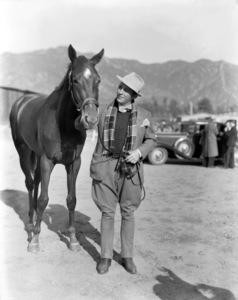 Bing Crosby at Santa Anita Park1933 - Image 0073_2136