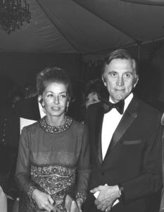 Kirk Douglas with his wifec. 1972 - Image 0075_1133