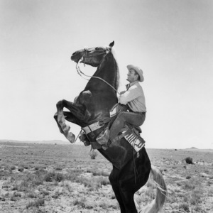 """""""Lonely Are the Brave""""Kirk Douglas on his horse, Whiskey1962 Universal Pictures** I.V./M.T. - Image 0075_1155"""