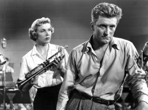 """Young Man with a Horn""Kirk Douglas, Doris Day1950 Warner Bros.** I.V. - Image 0075_1168"