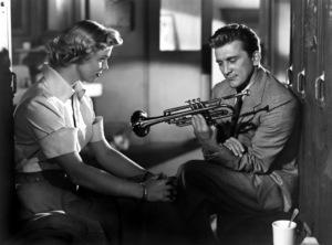 """Young Man with a Horn""Kirk Douglas, Doris Day1950 Warner Bros.** I.V. - Image 0075_1169"
