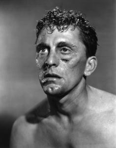 """Kirk Douglas make-up test for """"Champion""""1949** I.V. - Image 0075_1174"""