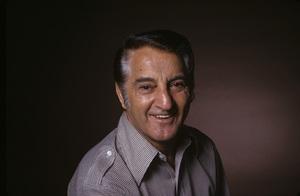 Danny Thomas in Las Vegas posing during an album cover photo session1973© 1989 Ken Whitmore - Image 0076_0612