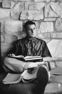 Stanley Kramer reviewing a script at home, 1950. © 1975 AMPAS / Sanfor Roth - Image 0077_0600