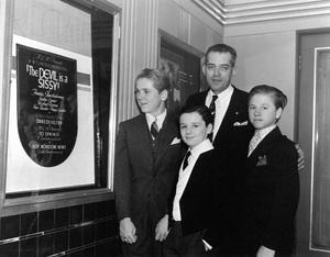 Jackie Cooper, Freddie Bartholomew and Mickey Rooney1936 - Image 0078_0533