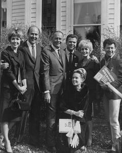 Barbara Rush, Carl Reiner, Henry Fonda, Jackie Cooper, Joan Staley, Tippi Hedren and Eddie Fisher1963 © 1978 Marv Newton - Image 0078_0535