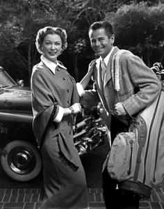 Glenn Ford and his wife Eleanor Powellcirca 1955 © 1978 Paul Hesse - Image 0079_0071