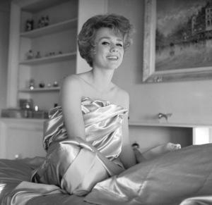 Inger Stevensat home Circa.1965 © 1978 Bernie Abramson - Image 0088_0218