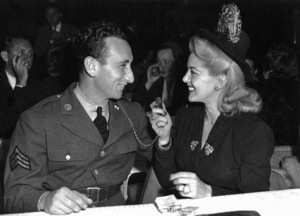 Sid Avery and Lana Turner at Ciro