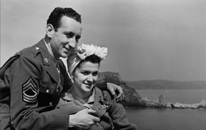Photographer Sid Avery and wife Diana on their honeymoon / July of 1943 - Image 0090_0336