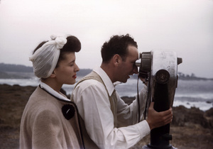 Sid Avery and wife Dianacirca 1944 - Image 0090_1055