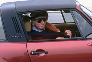 Sid Avery in his 1978 Porsche 911 SC at the Bondurant Driving School in Sonoma, California1981© 1981 Ron Avery - Image 0090_1066