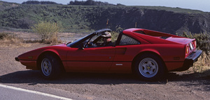 CarsSid Avery in his 1982 308 GTS Ferrrari1982© 1982 Ron Avery - Image 0090_1080