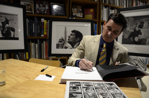 """Ron Avery at a book signing for """"Sid Avery: The Art of the Hollywood Snapshot"""" 12-15-2012 / Arcana: Books on the Arts / Culver City, CA © 2012 Andrew Howick - Image 0090_1091"""