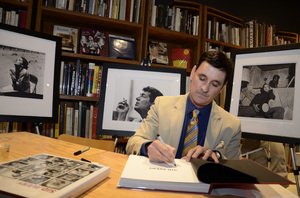 """Ron Avery at a book signing for """"Sid Avery: The Art of the Hollywood Snapshot"""" 12-15-2012 / Arcana: Books on the Arts / Culver City, CA © 2012 Andrew Howick - Image 0090_1093"""