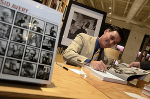 """Ron Avery at a book signing for """"Sid Avery: The Art of the Hollywood Snapshot"""" 12-15-2012 / Arcana: Books on the Arts / Culver City, CA © 2012 Andrew Howick - Image 0090_1099"""