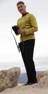 "Ron Avery in ""Star Trek"" uniform 2019© 2019 Ron Avery - Image 0090_1123"