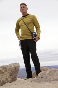 "Ron Avery in ""Star Trek"" uniform 2019© 2019 Ron Avery - Image 0090_1124"