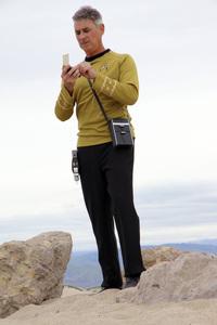 "Ron Avery in ""Star Trek"" uniform 2019© 2019 Ron Avery - Image 0090_1126"