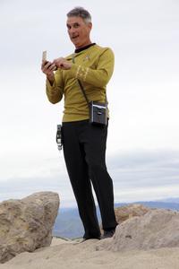 "Ron Avery in ""Star Trek"" uniform 2019© 2019 Ron Avery - Image 0090_1127"