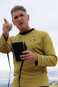 "Ron Avery in ""Star Trek"" uniform 2019© 2019 Ron Avery - Image 0090_1131"