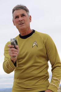 "Ron Avery in ""Star Trek"" uniform 2019© 2019 Ron Avery - Image 0090_1132"