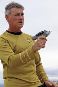 "Ron Avery in ""Star Trek"" uniform 2019© 2019 Ron Avery - Image 0090_1134"