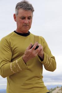 "Ron Avery in ""Star Trek"" uniform 2019© 2019 Ron Avery - Image 0090_1136"