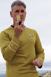 "Ron Avery in ""Star Trek"" uniform 2019© 2019 Ron Avery - Image 0090_1137"