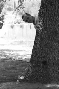Bob Newhart golfing1961© 1986 Sid Avery - Image 0092_0088