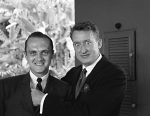 Bob Newhart and Tom Poston1961 © 1978 Sid Avery - Image 0092_0669