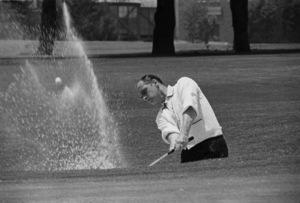 Bob Newhart golfing1961 © 1978 Sid Avery - Image 0092_1255