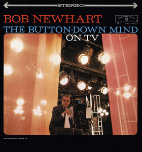 """Bob Newhart (Album cover for """"The Buttoned-Down Mind On TV"""") 1961 © 1978 Sid Avery - Image 0092_3028"""